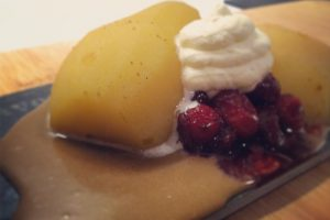 Ginger Poached Pears