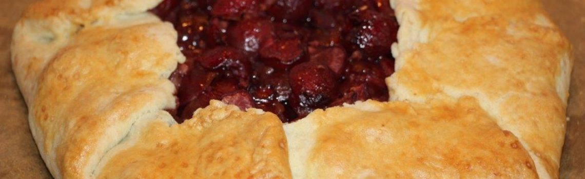 Cherry Galette: A Quick & Easy Substitute for the Traditional Pie