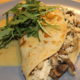 Chicken & Mushroom Stuffed Gluten Free Crepes