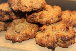 Food Journaling and a Healthy Gluten Free Oatmeal and Tahini Power Cookie Recipe
