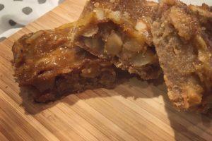 Spelt Shortbread, Apricot & Almond Bars