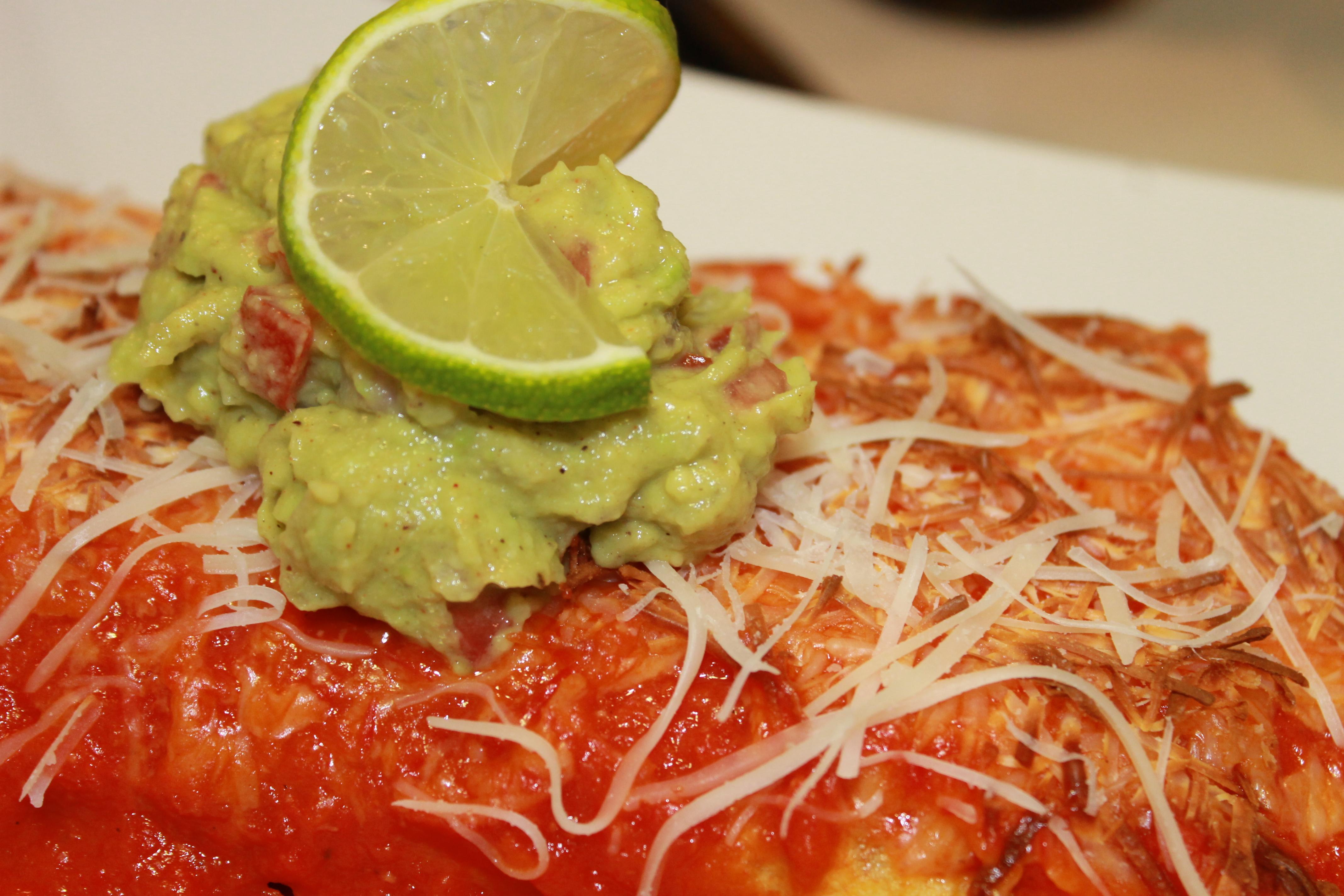 Spinach and Mushroom Enchiladas – Emily Dawn Yoga & Wellness