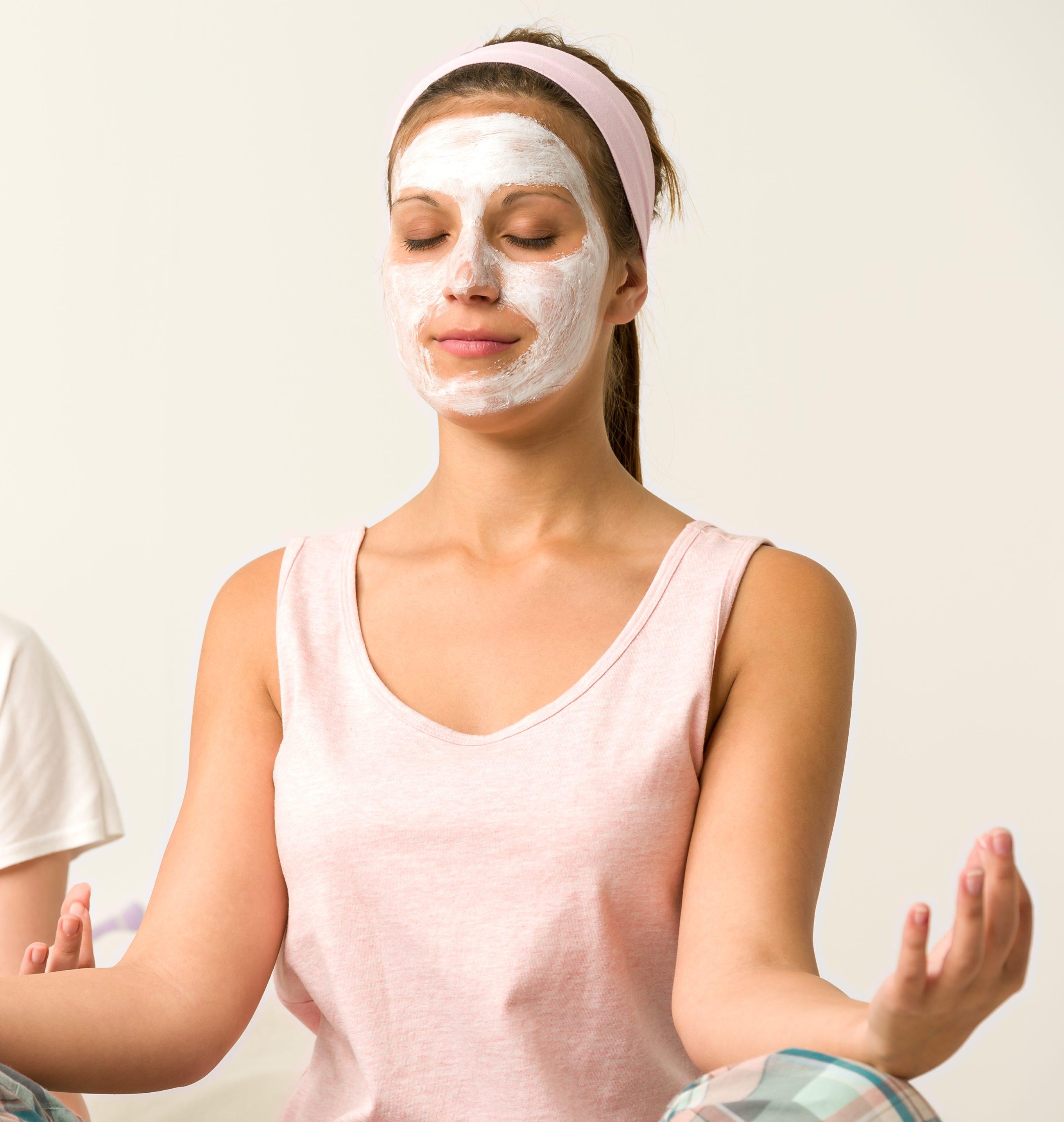 Beauty Mask, Meditation & Mimosas at recharj®